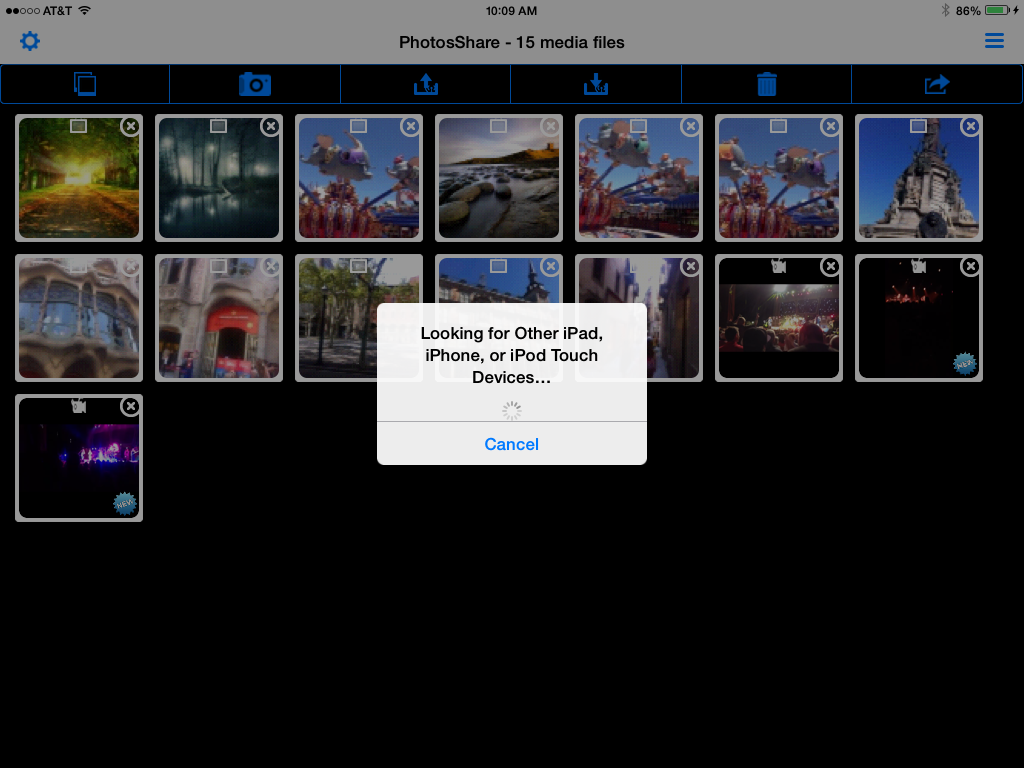 PhotosShare Photo Utility (iOS mobile app)