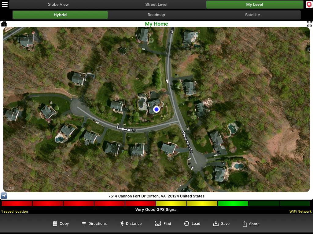 iMapMe GPS Utility (iOS mobile app)
